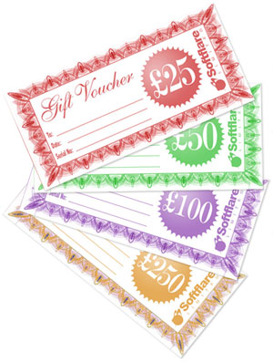 Softflare Gift Vouchers